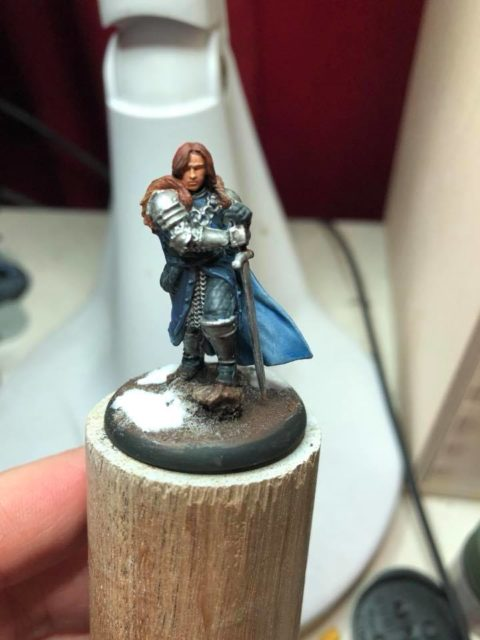 Robb Stark from A Song of Ice and Fire Tabletop Miniatures Game