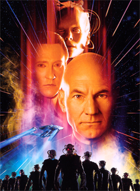Star Trek First Contact Poster