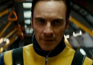 Michael Fassbender in X-Men First Class