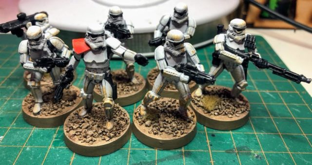 Star Wars: Legion stormtroopers